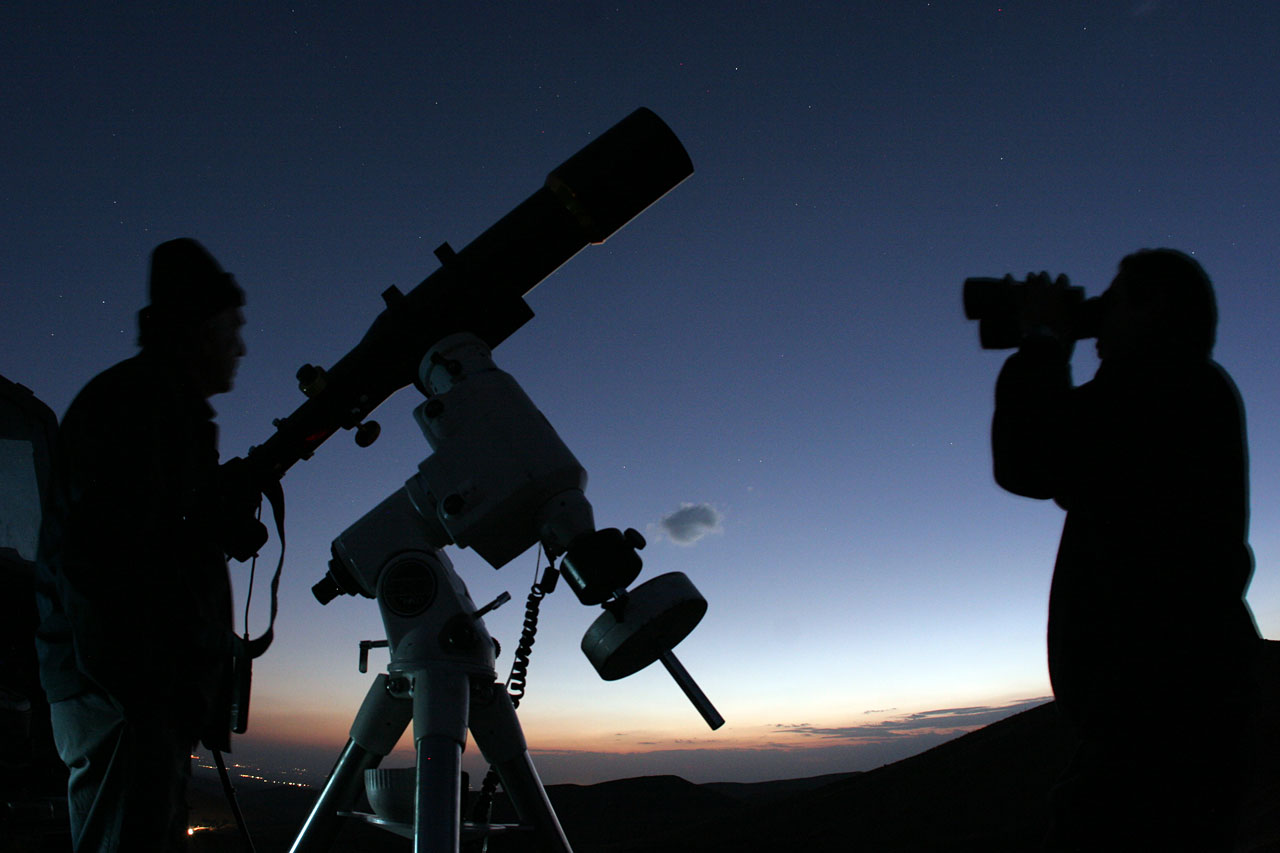 observing with a telescope in a handicap - HD 1280×853