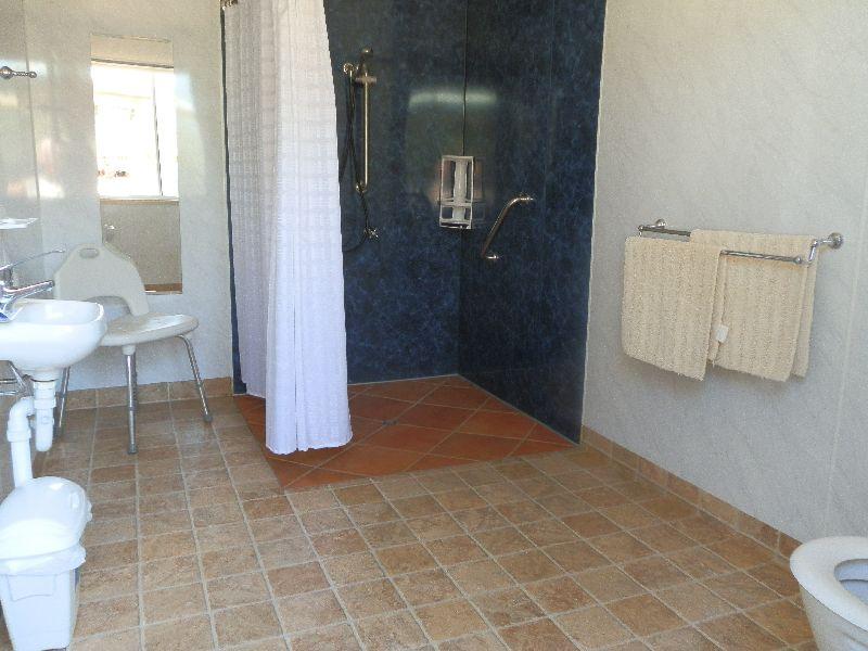 Bathroom - Accessible Cabin